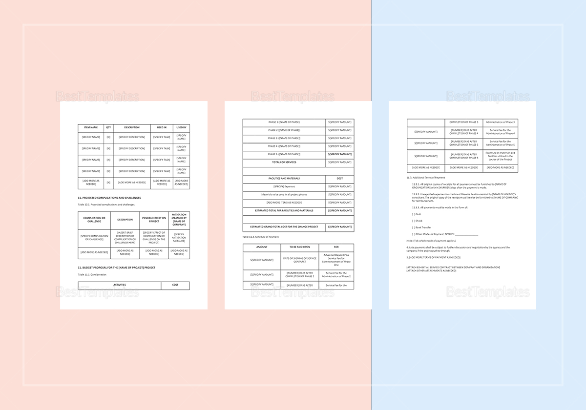 technical design document template for middleware