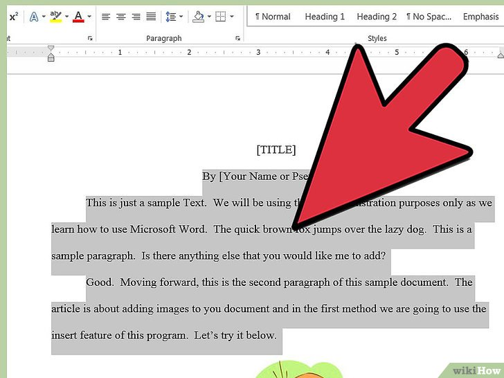 how to add a signature to microsoft word document