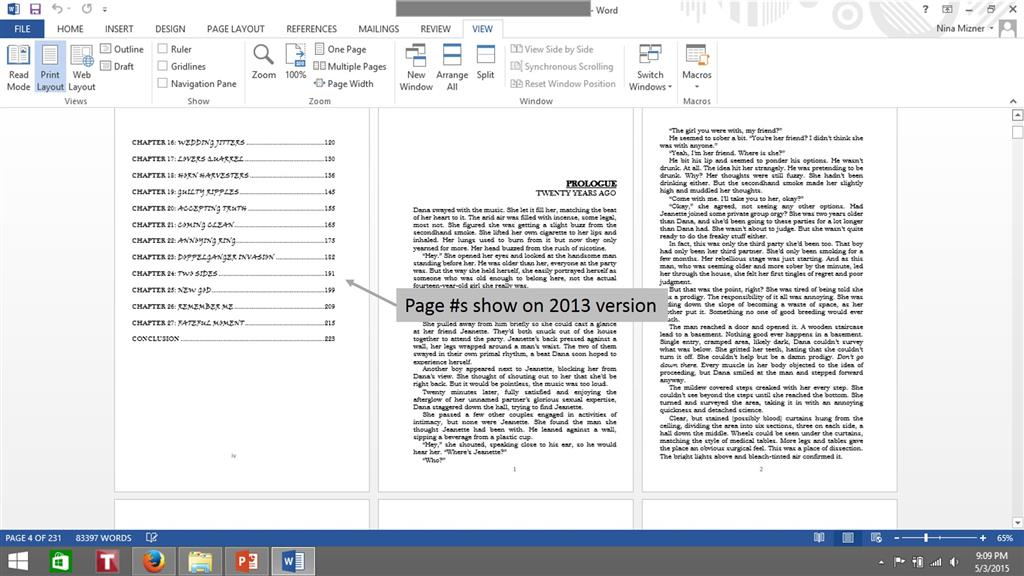 can you open word 2013 document in word 2003