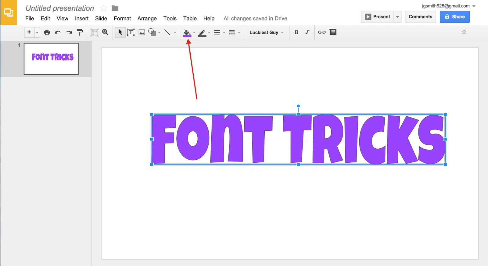 create a google form from a word document