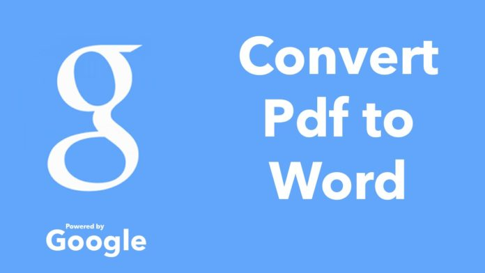 how to convert pdf to text document