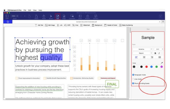 edit scanned pdf document in word