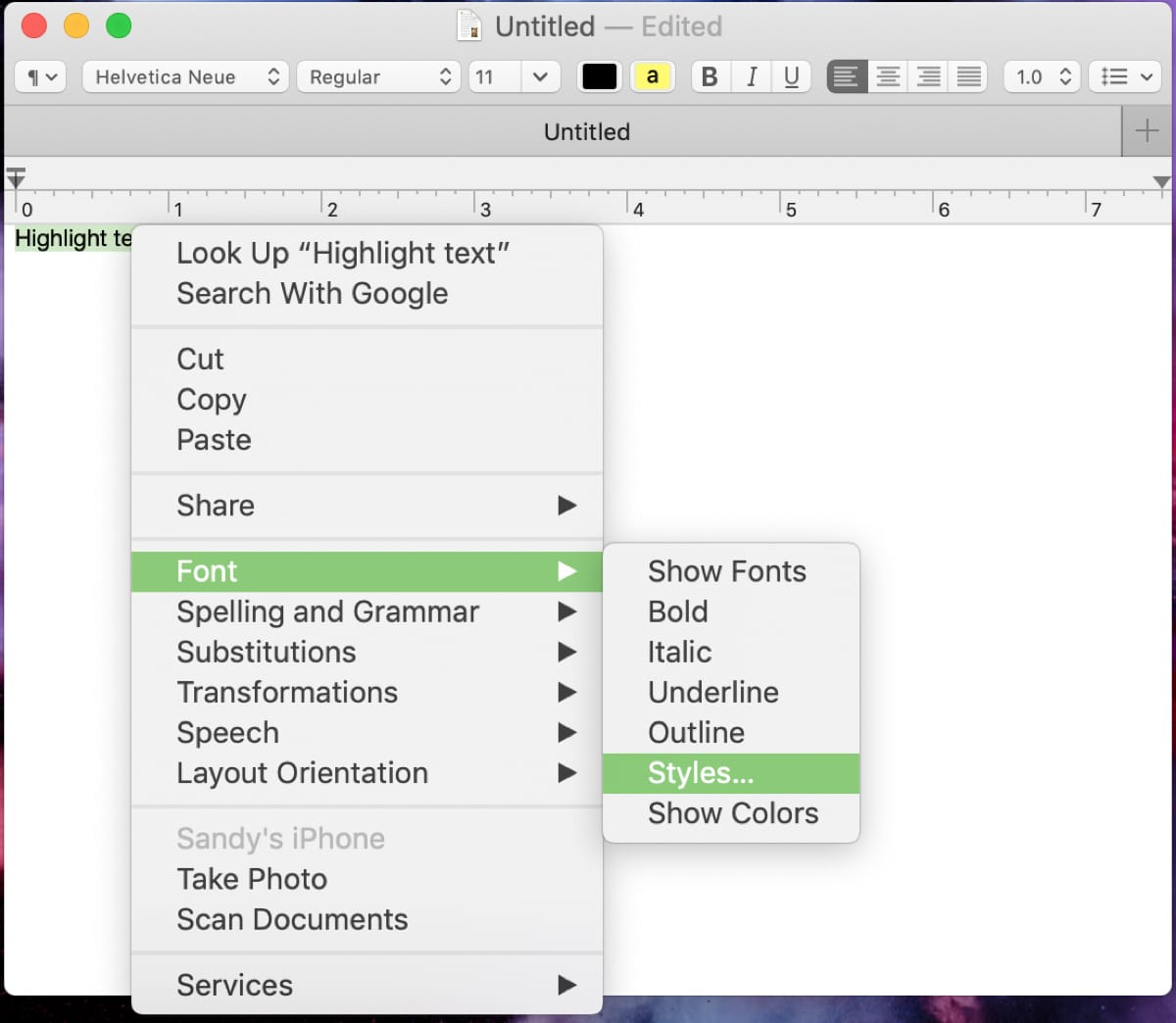 how to open document on mac without textedit