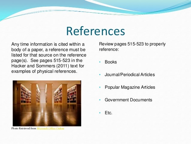 how to reference apa government document