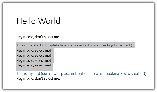 word vba select active document