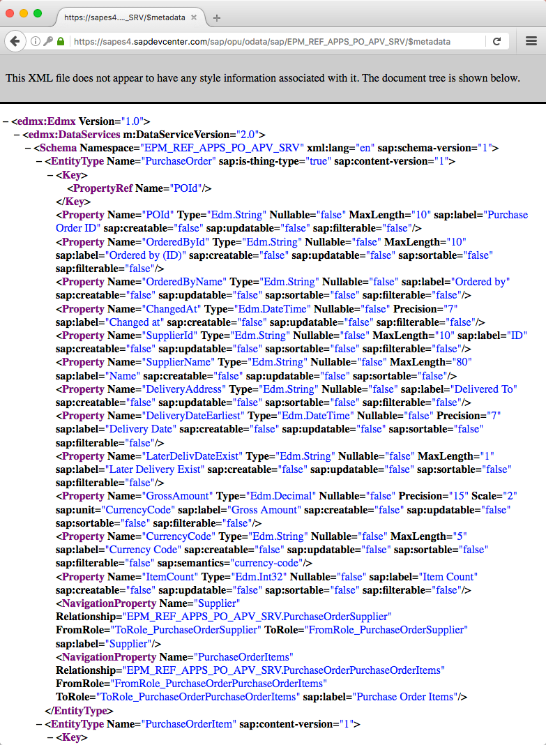 create an xml document that markis up