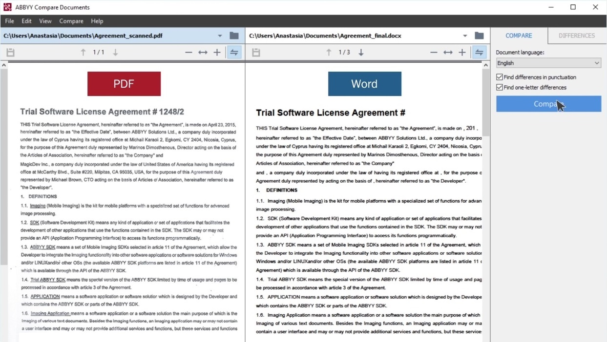 download a pdf as a word document