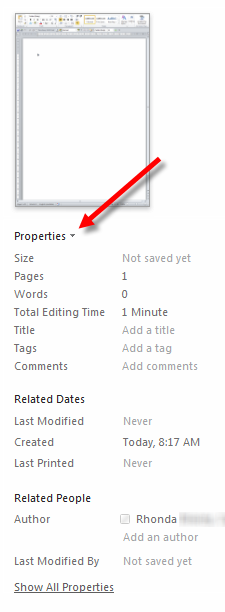 ho to remove read only from word document